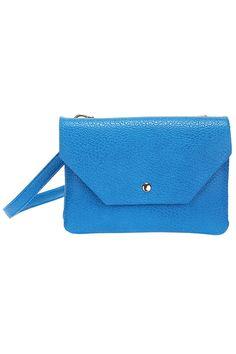 ROMWE Blue PU Bag