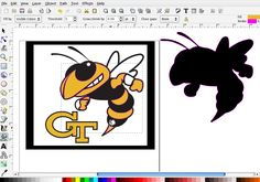 Using Inkscape to separate colors in a flat image into layers for saving as an svg file
