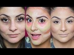Correção de pele com corretivos coloridos - Camuflagem / Por Gabih Machado