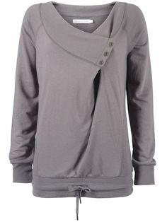 refashion inspiration -- hmm, using an XL sweatshirt