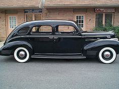 1939 Dodge Luxury Liner. Mine looks exactly like this! Not sure what yr it was, but I remember my grandpa Given having a car like this.