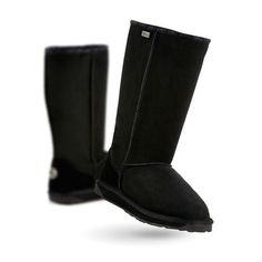 Look what I found on Black Platinum Stinger Hi Suede Boot - Women & Men by EMU Australia Sheepskin Boots, Emu, Bearpaw Boots, Suede Boots, Winter Boots, Fashion Boots, Black Boots, Pairs, My Style