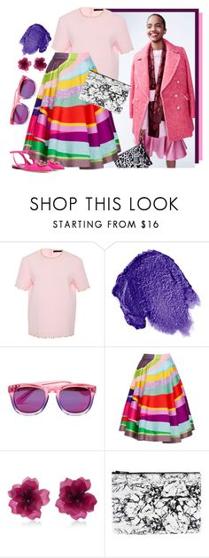 """""""Sand Art"""" by cherieaustin ❤ liked on Polyvore featuring J.Crew, Manish Arora, Obsessive Compulsive Cosmetics, Wildfox, Matthew&Melka and Dolce&Gabbana"""