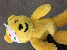 Found at Hammersmith on 01 Mar. 2016 by Patrick : I found this pudsey bear in Hammersmith . I really hope I find his owner. Lost & Found, Pet Toys, Teddy Bear, London, Animals, Big Ben London, Animaux, Animal, Animales