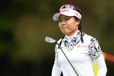 Pei-Ying Tsai Photos Photos - Pei-Ying Tsai of Taiwan looks on during the second round of the Resorttrust Ladies at the Oakmont Golf Club on May 27, 2017 in Yamazoe, Japan. - Resorttrust Ladies - Day 2