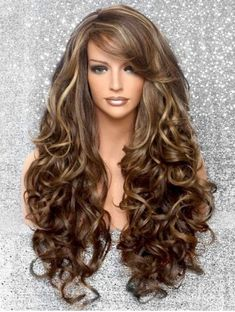Brown Wigs Lace Hair Blonde Wig Cute Hairstyles Lange Straightener Hairstyles For Long Straight Hair Long Thin Hairstyles Human Hair Lace Front Wigs With Baby Hairline 360 Wigs Short Curly Wigs, Long Wigs, Hollywood Glamour, Hairstyles With Bangs, Straight Hairstyles, Model Hairstyles, Hairstyle Ideas, Hairstyles 2016, Long Curly Layered Haircuts