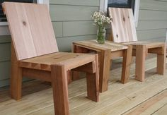 2x4 chairs