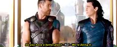 Thor seems very condescending to Loki here.