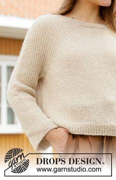 Winter Wheat pattern by DROPS design Drops Design, Knitting Patterns Free, Free Knitting, Magazine Drops, Knitting Gauge, Labor, Crochet Diagram, Work Tops, Stockinette