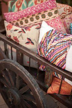 pillows and pillows and pillows
