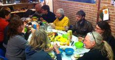 Onze kantine in de Openbare Werkplaats in Amsterdam.