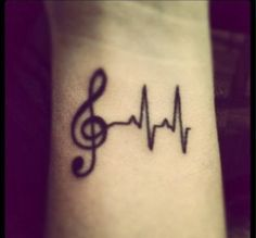music tattoos tumblr - Google Search