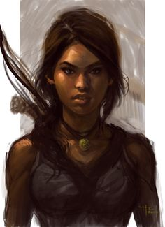Tomb+Raider+by+Rustveld.deviantart.com+on+@deviantART - Lord.  She looks so very, very awesome.