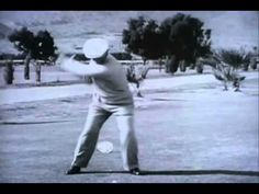▶ Ben Hogan slow motion video - Transition training 1 - YouTube