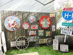 クリスマスのU.S.ヘヴィースチールサイン(XXLサイズ)販売 アメリカ雑貨のテーマパーク!キャンディタワー
