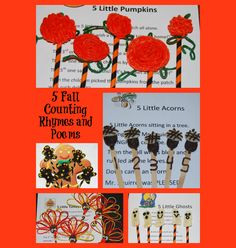 Original Fall Counting Rhymes and Poems for Preschool and Kindergarten