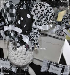 Black and White Birthday Party Ideas   Photo 1 of 9   Catch My Party