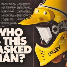 Who is this masked man? Why Rick Johnson of course.