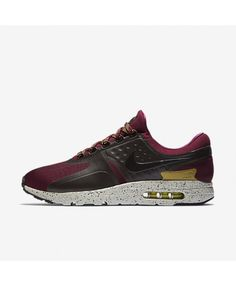 detailed look c779f 68f9c Nike Air Max Zero SE Bordeaux Velvet Brown Bright Cactus Black 918232-600  Zero Shoes