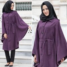 NEVA STYLE - CAPE - 51250MU #hijab #naylavip #hijabi #hijabfashion #hijabstyle #hijabpress #muslimabaya #islamiccoat #scarf #fashion #turkishdress #clothing #eveningdresses #dailydresses #tunic #vest #skirt #hijabtrends