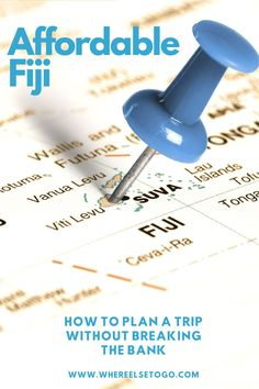 If you've been to Hawaii or the Caribbean, love the island and beach life, an affordable trip to Fiji may be the perfect spot for your next vacation. Travel To Fiji, Travel Advise, Sunny Beach, Online Entrepreneur, Tour Guide, Caribbean, Trips, Hawaii, How To Memorize Things