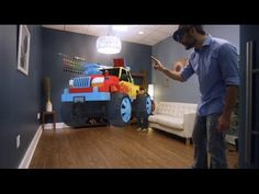 #hololens #hologram Build 3D in 3D with natural gestures and movement, using holographic tools modeled from tools in the real world. Create holograms of your own design and turn...
