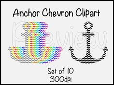 This set comes with 10 different colored chevron anchors created in 300dpi.This set of clipart can be used for Personal and/or Commercial Use (given credit).Specific Terms of Use in Zip file!As always, please leave feedback and make sure to check out my blog, Thriving in 3rd.