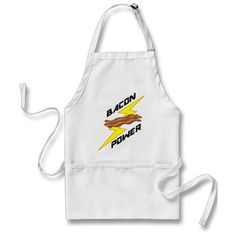 Bacon Power Aprons