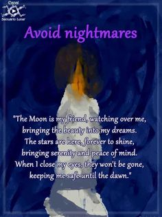 Protection spell for Nightmares - How to avoid nightmares Protection spell nightmares - Verses Witchcraft Spells For Beginners, Wicca For Beginners, Healing Spells, Magick Spells, Wiccan Protection Spells, Candle Spells, Witch Spell Book, Witchcraft Spell Books, Witchcraft Herbs