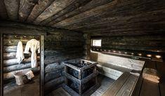backyard design – Gardening Tips Portable Sauna, Tree Logs, Sauna Design, Finnish Sauna, Steam Sauna, Sloped Backyard, Sauna Room, House In The Woods, Farmhouse