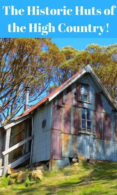 The Huts of the High Country - Historic huts in the Australian Alps of Victoria and New South Wales Western Australia, Australia Travel, Visit Australia, Queensland Australia, Travel Around The World, Around The Worlds, Overseas Travel, Snowy Mountains, Victoria Australia