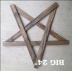 Wood Lath star-Plain 24in :: Lathe and Unfinished :: Wood Crafts :: Wholesale Country Primitive Gifts/ Kp Home Collection