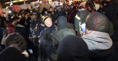 Eric Garner protester clocks NYPD officer at Ferry terminal