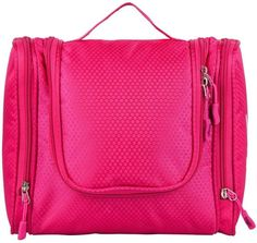Hanging Toiletry Bag - Use For Makeup, Cosmetic, Shaving, Travel Accessories - Use In Hotel, Car, Home, Bathroom, Airplane.