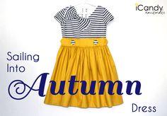 icandy handmade: (Basic Bodice Design Series) Sailing Into Autumn Dress