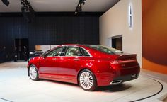 The sleek 2015 Lincoln MKZ