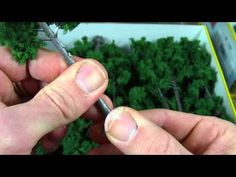 Clump Foliage - Foam Type & Quantity - YouTube