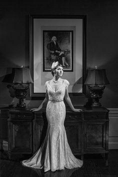 film noir wedding dress - Google Search