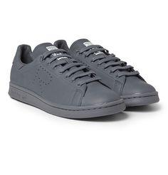 Raf Simons - Adidas Stan Smith Leather Sneakers|MR PORTER