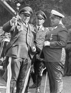 Kesselring, Speidel and Goering