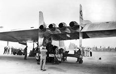 Northrop YB-49 Flying Wing  from  Los Angeles Times