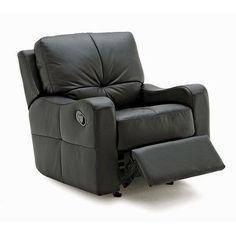 Palliser Furniture National Swivel Rocker Recliner Upholstery: Leather/PVC Match - Tulsa II Bisque, Leather Type: All Leather Protected  - Tulsa II...