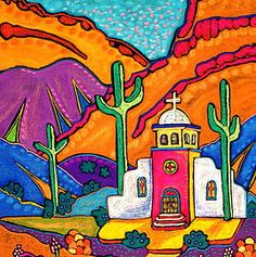 Jenny Willigrod, Original Southwest Art | CHURCHES