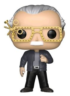 Funko Pop Marvel Comics Creator Figure Stan Lee Guardians of Galaxy Special Edition Collectible Stan Lee Funko Pop, Deadpool Pop, Stan Lee Cameo, Pop Goes The Weasel, Galaxy Movie, Funko Pop Toys, Funko Figures, Pop Collection, Funko Pop Marvel
