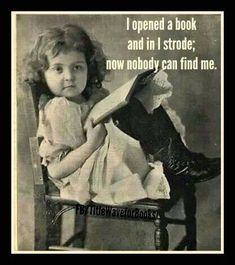 I love to read and many is the evening/weekend when I did exactly this. And here are to many more days of reading.