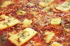 Ricetta per lo sfincione | Ricette di Sicilia