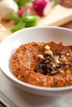 NYT Cooking: Freeze vegetables at the height of the season, when they are at their Technicolor best, and you'll be rich with cooking options for months to come. For example, this muhammara, the Middle Eastern red pepper and walnut spread, can be made with either fresh red bell peppers or ones that you have chopped and frozen. The version made with frozen peppers is a little loose...