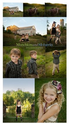 barn & outdoor shots ~ love the little boy photos, can't find many photo shot poses of little boys