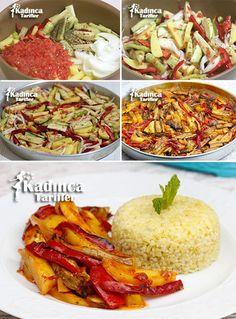 How to Make Baked Meatless Vegetable Kebab Recipe, Soup Recipes Meat Sauce Recipes, Kebab Recipes, Soup Recipes, Turkish Recipes, Ethnic Recipes, Spaghetti Squash, Vegetable Recipes, Food And Drink, Vegetarian