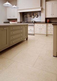 Aged Jervaulx Lincolnshire limestone, in aged-and-pillowed, brushed or honed finishes, Martin Moore Stone
